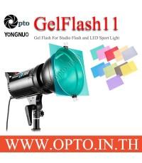 Gel Flash 11 Color for Studio Flash And LED Sportlight เจลสีสำหรับแฟลชและไฟLED