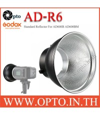 AD-R6 Standard Reflector Dish Bowens Mount Umbrella Hole for Godox AD600B AD600BM โคม รูร่มตรง
