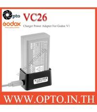 VC26 Charger USB for Godox Flash V1 VB26 ที่ชาร์ตสำหรับแฟลชโกดอก V1