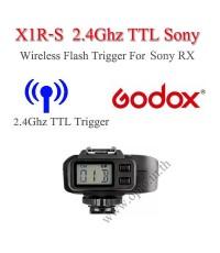 Godox X1R-S Auto TTL 2.4Ghz Wireless Trigger RX for Sony Flash speedlite ตัวรับแฟลชไร้สายแบบออโต้