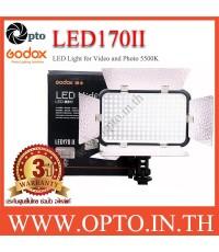 LED170II Godox 5500K LED Video Light for Camera ไฟต่อเนื่องสำหรับถ่ายภาพและวีดีโอ
