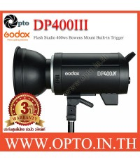 DP400III Godox Professional Studio Strobe Flash Light 400Ws Built-in Wireless X System แฟลชสตูดิโอ