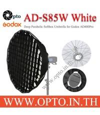 AD-S85w Godox Mount White Parabolic Deep Softbox For AD300Pro AD400Pro 85CM พาราโบลิกซอฟท์บ๊อกซ์