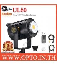 UL60 Silent LED Video Light Fanless ไฟต่อเนื่องไม่มีพัดลม ไม่มีเสียงรบกวน