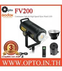 FV200 Godox Continuous light LED  HSS Flash LED Light 200W with Built-in 2.4G ไฟต่อเนื่องและแฟลช