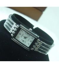 Rolex Ladies Watch หน้าปัดสีขาว  ตัวเรือนสแตนเลส สวยหรูมากค่ะ สินค้าใหม่ 100%