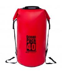 กระเป๋ากันน้ำ Ocean Pack 40L Red