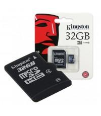 KINGSTON เมมโมรี่การ์ด MICRO SD CARD 32 GB CLASS 4