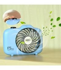 REMAX พัดลมตั้งโต๊ะ Shape Mini Fan รุ่น F5