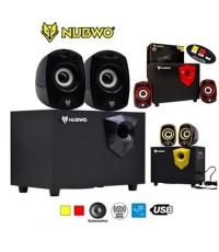 NUBWO ลำโพงคอมพิวเตอร์ เบสแน่น เสียงดี Speaker 2.1 รุ่น NS-031