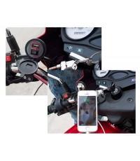 YueMal ที่ชาร์จสำหรับรถจักรยานยนต์ กันน้ำ CHARGER USB Adapter รุ่น YF-121