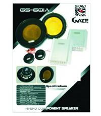 ลำโพงยี่ห้อ Gaze แยกชิ้นขนาด 6.5 นิ้ว รุ่น GS-601A