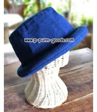 หมวกผ้าฝ้าย หมวกขอบม้วน หมวกทรงชาลี