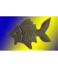 ปลาตะเพียนไม้งิ้วดำแกะ พิมพ์เล็ก ปี 23