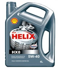 Shell Helix HX8 5w-40 Fully Synthetic