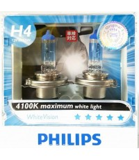 PHILPIS White Vision แสงขาว H4 H7
