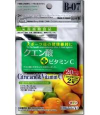Daiso Citric acid vitamin C 20 วัน