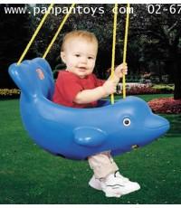 ชิงช้าปลาโลมา #  7709  Dolphin  Swing