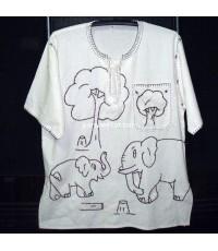 เสื้อด้นช้างคอเปีย