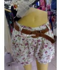 กางเกงดอกไม้