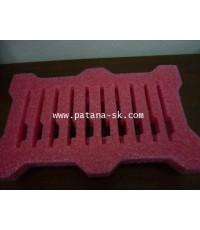 ESD foam โฟม พีอี ชนิดแอนตี้สแตติก ผลิต และ ตัดไดคัต ตามแบบงาน