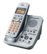 โทรศัพท์แบบไร้สาย ยี่ห้อพานาโซนิค KX-TG3721BX