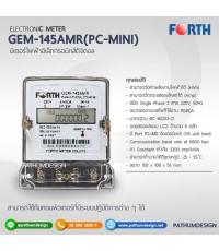 มิเตอร์ไฟฟ้า อีเล็คทรอนิคส์ ดิจิตอล  FORTH AMR145 (PC-MINI)