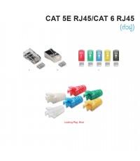Connectors CAT 5E/CAT 6