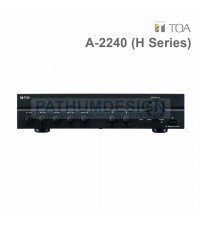 A-2240 H IT TOA Mixer Power Amplifiers (240W) (H Version)