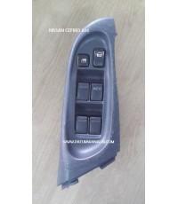 สวิทช์กระจกประตู Nissan Cefiro A33 F/R (นิสสัน เซฟิโร่ เอ33 หน้าขวา) ฝั่งคนขับ ปี 1998-2003