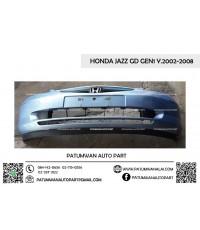 กันชนหน้า HONDA JAZZ GD (ฮอนด้า แจ๊ส) ตัวแรก โฉมปี 2004-2006