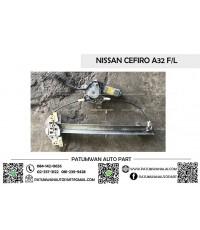 *หมด* มอเตอร์เฟืองกระจกประตู Nissan Cefiro A32 F/L (นิสสัน เซฟิโร่ เอ32 หน้าซ้าย)