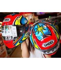 หมวกกันน็อค SHOEI X SPIRIT III DAJIRO TC1 แดง