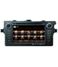 เครื่องเสียง DVD GPS Bluetooth จอทัชสกรีน 7 นิ้ว ตรงรุ่น New Altis