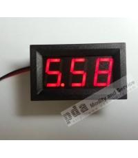 Digital Voltmeter DC 3.2v - 30V Red LED