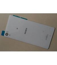 ฝาปิดหลังสีขาวพร้อมกาว Back cover Sony xperia Z2 D6503