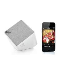 ipega ลำโพง Bluetooth สำหรับ iOS, Android, SmartPhone และ Tablet PC กำลังสูง 5W (สีขาว)