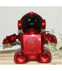 หุ่นยนต์พูดได้ พร้อมเครื่องเล่น MP3 วิทยุ FM และลำโพง