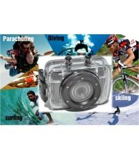 Action Sport Camcorder with Waterproof Case กล้องวิดีโอกันน้ำสำหรับนักกีฬา