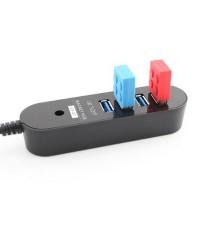 iE70P Hi-Speed USB 3.0 HUB 4 port พร้อมแม่เหล็ก Build In