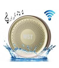 ลำโพง Bluetooth กันน้ำ รุ่น WST-827 สีทอง