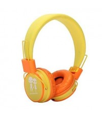 หูฟัง Kitty Baby สำหรับฟังเพลงและสนทนาโทรศัพท์ รุ่น EP-15 สีเหลือง