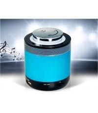ลำโพง Bluetooth พร้อม Hands-free และ FM รุ่น BT-1090 (สีฟ้า)