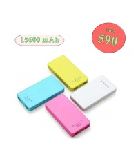Sqid แบตสำรอง Power Bank 15600 mAh มีปุ่มจุ๊บ ยึดมือถือ