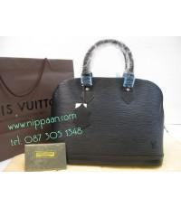 Louis Vuitton Alma Epi Leather Mirror Image 7 stars สี Noir