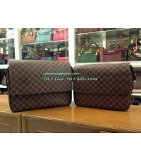 Louis Vuitton Damier SHELTON MM N41149 Top Mirror Image 7 stars