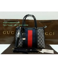 Gucci Rania Original GG canvas top handle bag Top mirror 7 stars