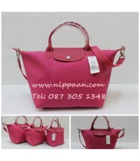 Longchamp Le Pliage Neo Shopping Handbag สีบานเย็น Candy