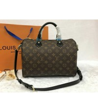 New Louis Vuitton Speedy 30 CM Monogram Canvas  Top Mirror Image 7 stars