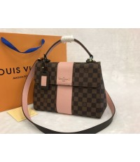 Louis Vuitton Damier Ebene canvas BOND STREET N64417 Top Mirror Image 7 stars
